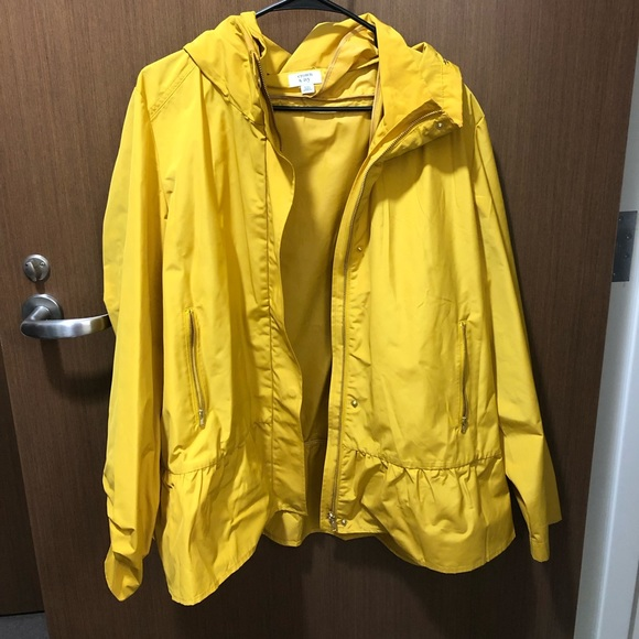 crown & ivy Jackets & Blazers - NWOT Yellow Rainjacket